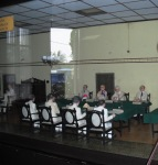 Miniatur Ruang Rapat Perundingan Linggar Jati