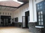 Bangunan Linggar jati , bagian muka atau depan, pintu masuk musium